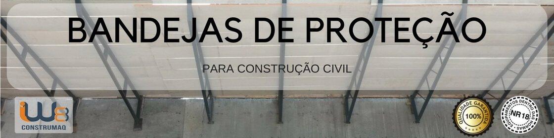 Bandeja de Proteção para Construção Civil